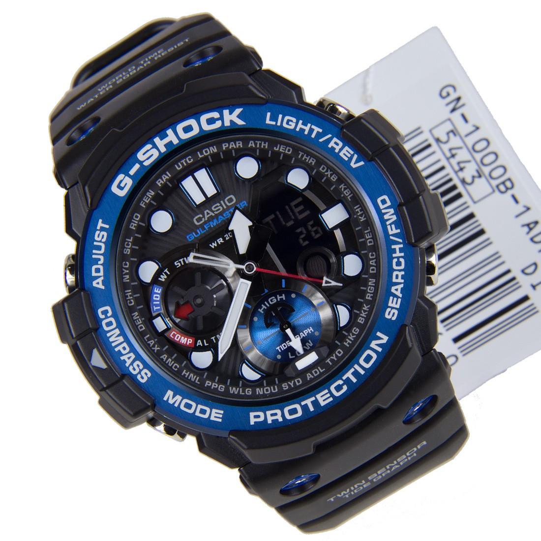 Часы Casio G-Shock Gulfmaster GN-1000B-1A