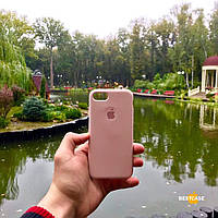 Чехол Silicone case for iPhone 7/8 Pink sand