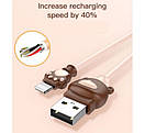 Кабель Baseus Bear USB Cable to Lightning , фото 2
