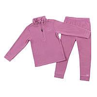 Флисовый костюм для девочки NANO BUWP600-F18 Vintage Pink. Размеры 2-12., фото 1