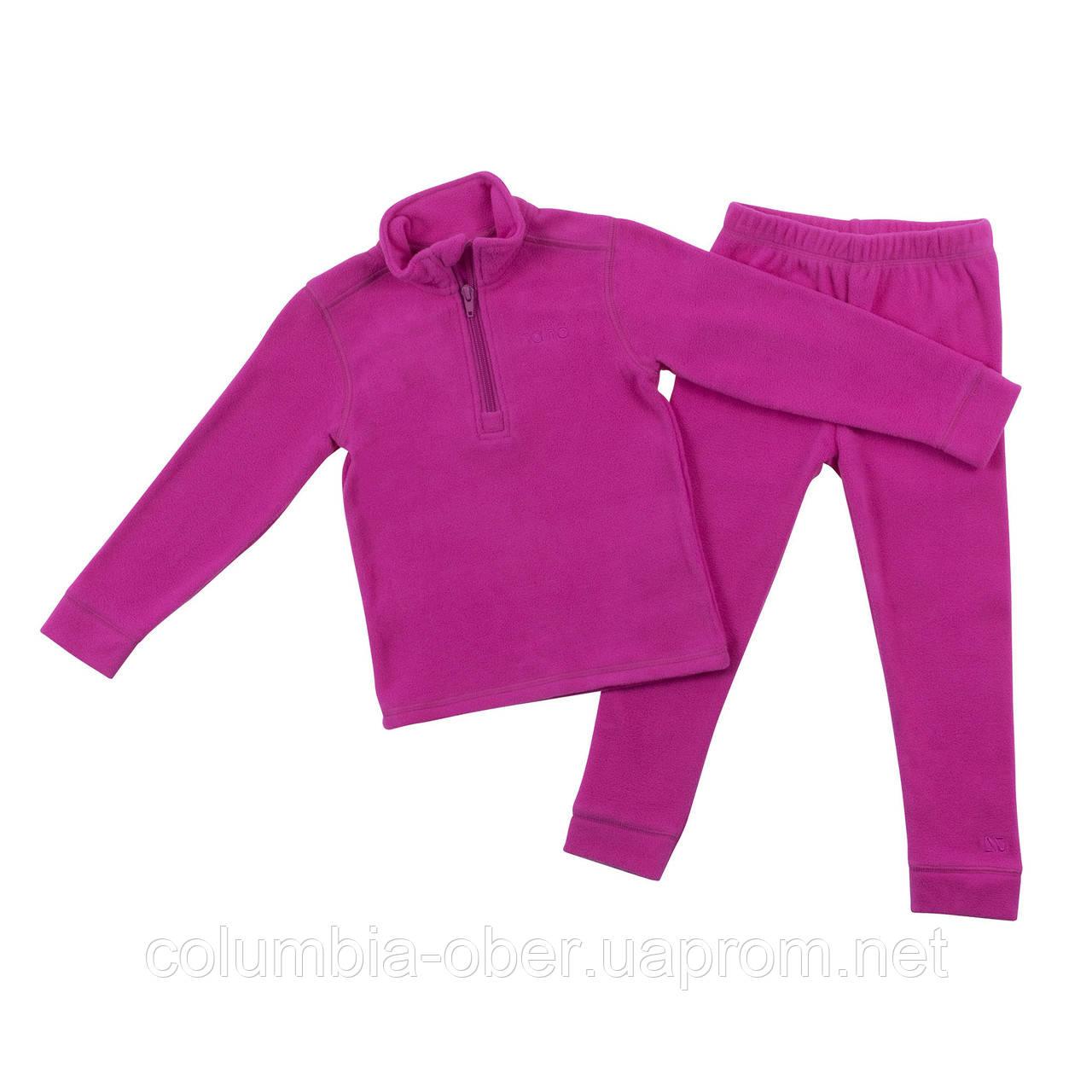 Флисовый костюм для девочки NANO BUWP600-F18 Mauve Rose. Размеры 2-12.