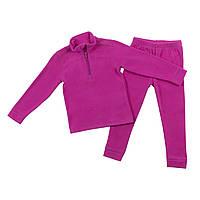 Флисовый костюм для девочки NANO BUWP600-F18 Mauve Rose. Размеры 2-12., фото 1