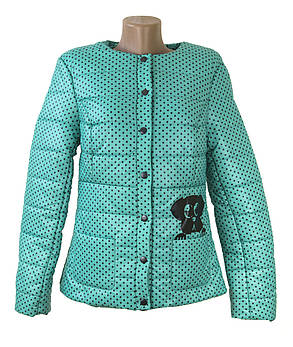 Демисезонная молодежная куртка LEKA, фото 2