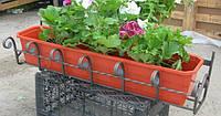 Кованые ящики под цветы