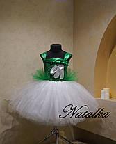 """Карнавальний костюм, юбка-платье из фатина  """"Подснежник"""", фото 3"""