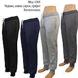 Купить теплые женские брюки. Брюки  женские утепленные трикотаж-начес, фото 6