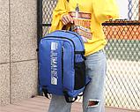 Рюкзак городской синий Jumahe, фото 3