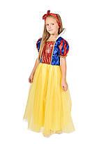 Костюм принцессы Белоснежки Рост 110-116 см, фото 3