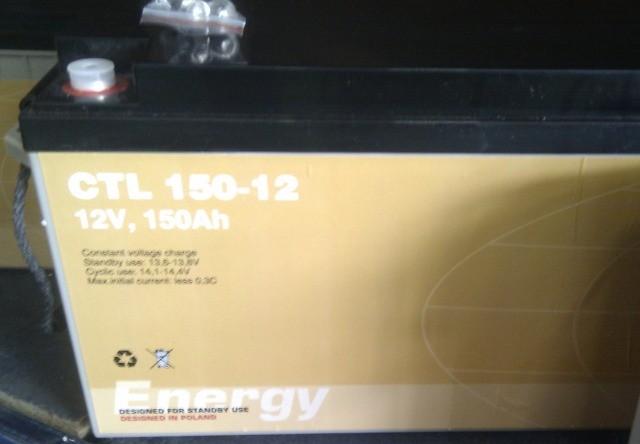 АКБ CTM Polska CTL 150-12