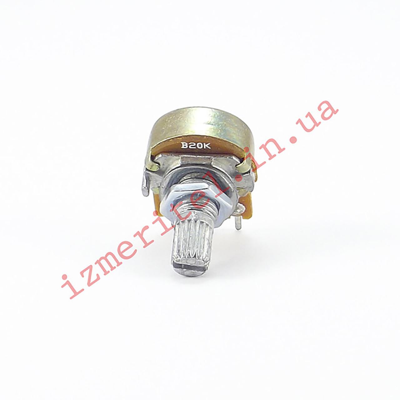 Потенциометр WH148 20 кОм