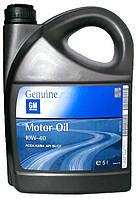 Моторное масло полусинтетика GM (Оригинальное!)10w40 5л
