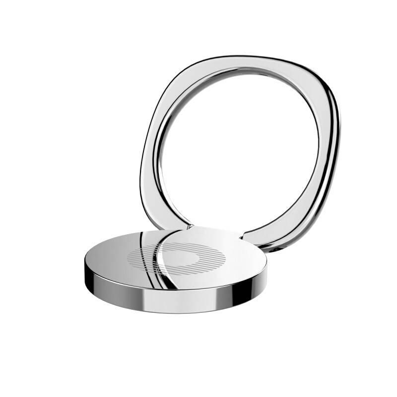 Кольцо-держатель Baseus для смартфона Silver