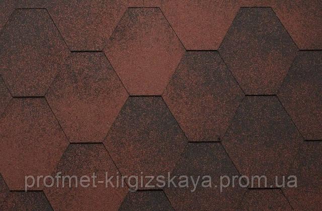 Битумная черепица KATEPAL SUPER JAZZY Красный