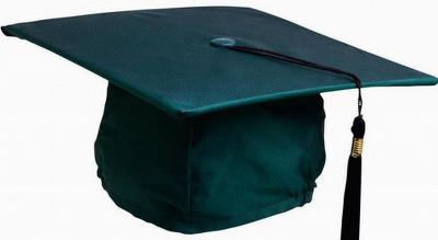 Шляпа Учёного квадрат с кисточкой