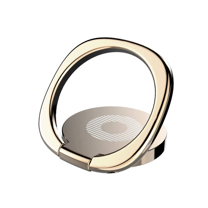 Кольцо-держатель Baseus для смартфона Gold