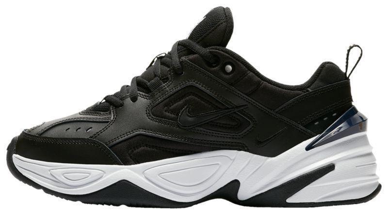 "Мужские кроссовки Nike M2K Tekno ""Black/White"" (Найк) черные"