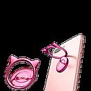 Кольцо-держатель Baseus Cat Ear для смартфона Pink, фото 2