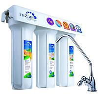 Тройная система очистки воды Гейзер 3 ВК Люкс для жесткой воды