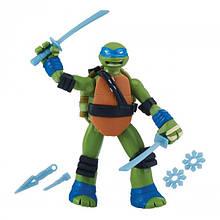 Фігурка серії Черепашки-Ніндзя Рестайлінг з бойовим панциром - Леонардо