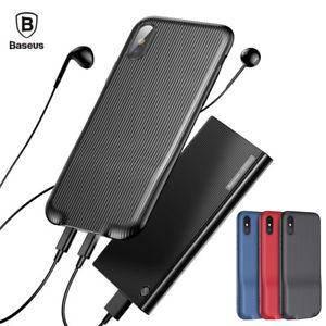 Чехол Baseus Audio для iPhone X (black)