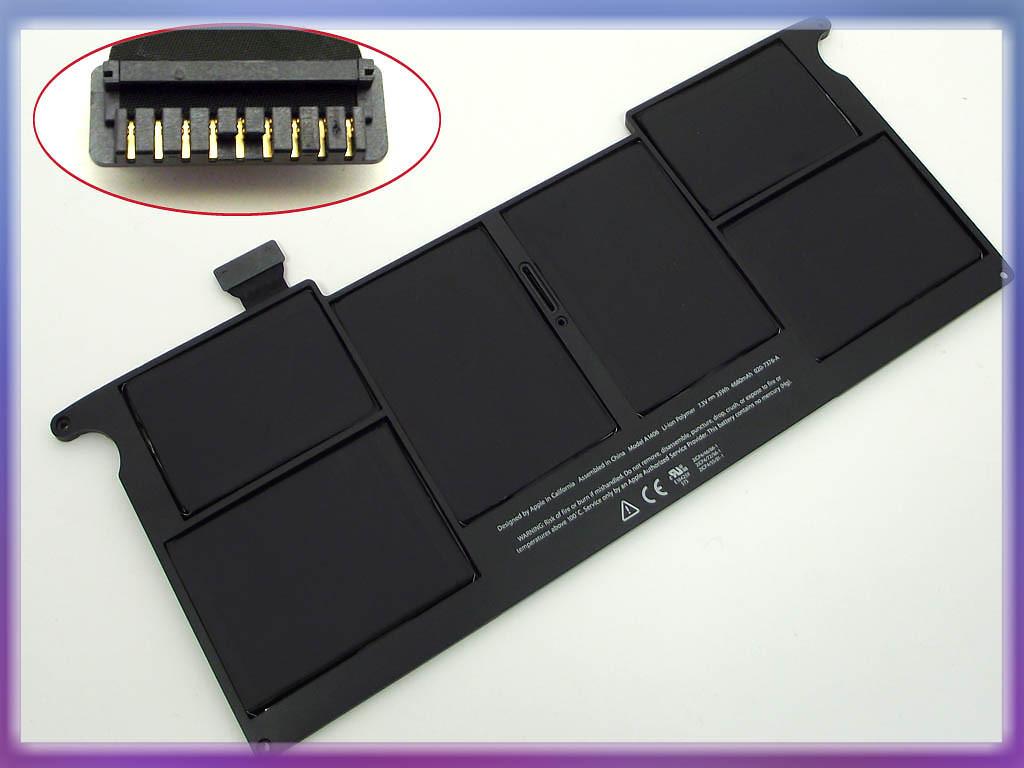 Аккумулятор Apple A1406, A1370 (2011год) 7.3V 35Wh Black. Apple MacBoo