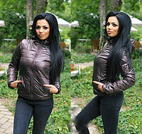 Куртка женская с капюшоном (плащевка на синтепоне 150 + качественная подкладка), фото 1