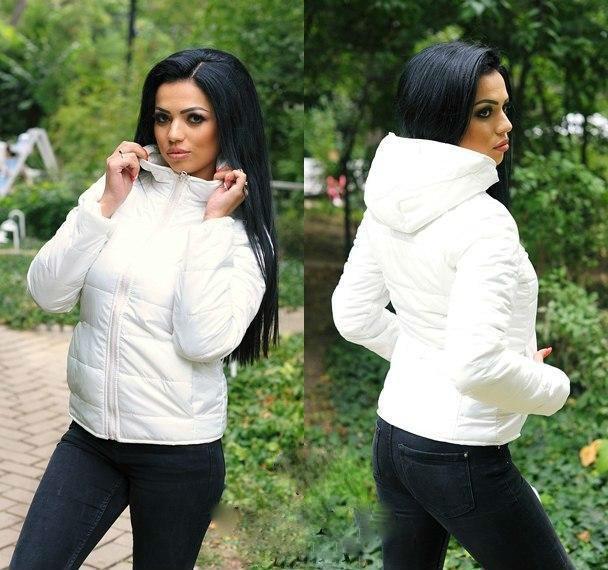 Куртка Женская с Капюшоном (плащевка на Синтепоне 150 + Качественная  Подкладка) — в Категории