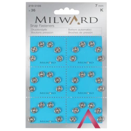 Пришивные кнопки Milward 2195105 (7 мм. 36 шт.)