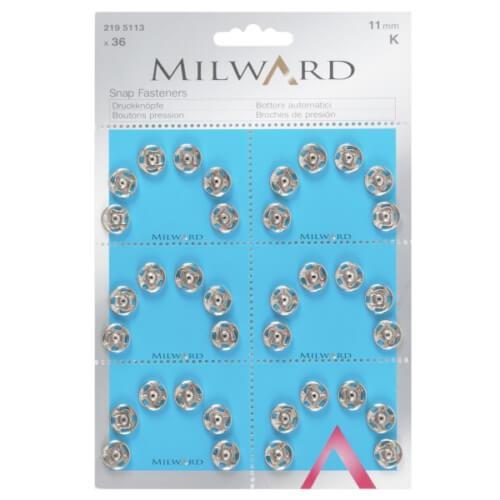Пришивные кнопки Milward 2195113 (11 мм. 36 шт.)