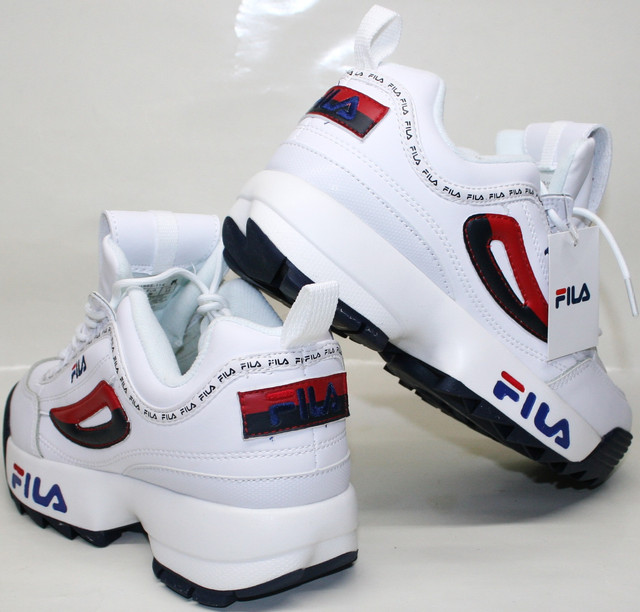 "Предложение магазина ""Гранд"" Fila Disruptor 2 white black/red/blue"