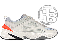 Женские кроссовки Nike M2K Tekno Grey White Ctimson AO3108-001