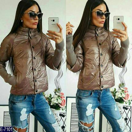 Куртка короткая женская демисезонная, фото 2