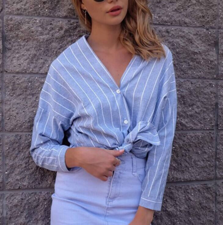 e705d249f493b43 Рубашка женская красивая 2018