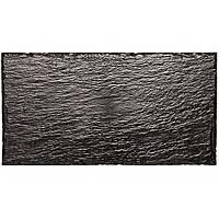 Рознос 15,8X30см черный  имитация камня уп. 10 шт.