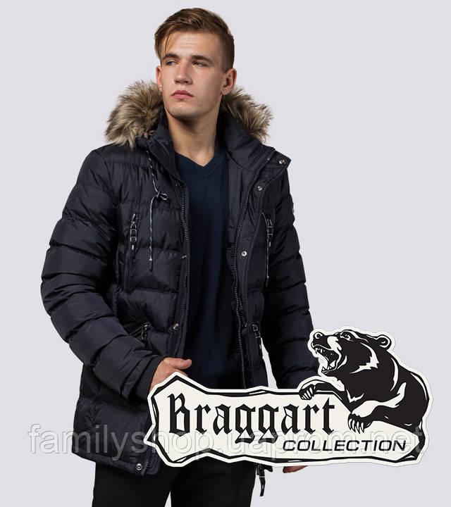 Braggart Dress Code 15335 | Куртка мужская зимняя т-синяя
