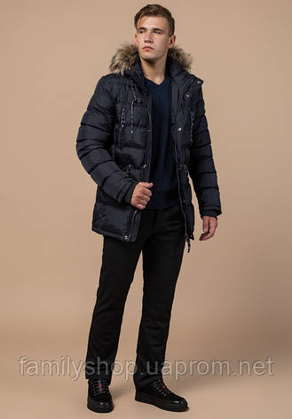Braggart Dress Code 15335 | Куртка мужская зимняя т-синяя, фото 2