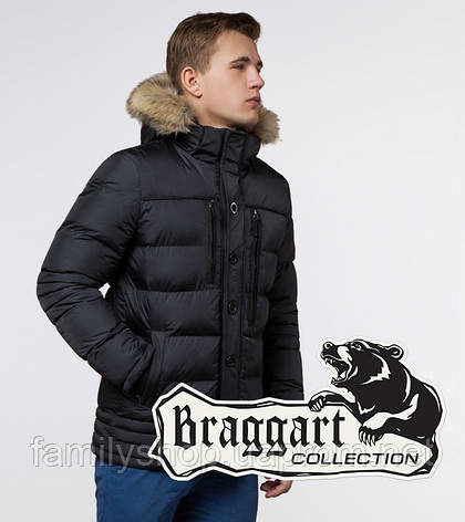 Braggart Dress Code 45610 | Куртка зимняя мужская графит, фото 2