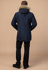 Braggart Dress Code 27830 | Мужская куртка зимняя т-синяя, фото 3