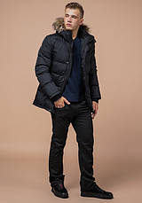 Braggart Dress Code 24712 | Зимняя мужская куртка графит, фото 3