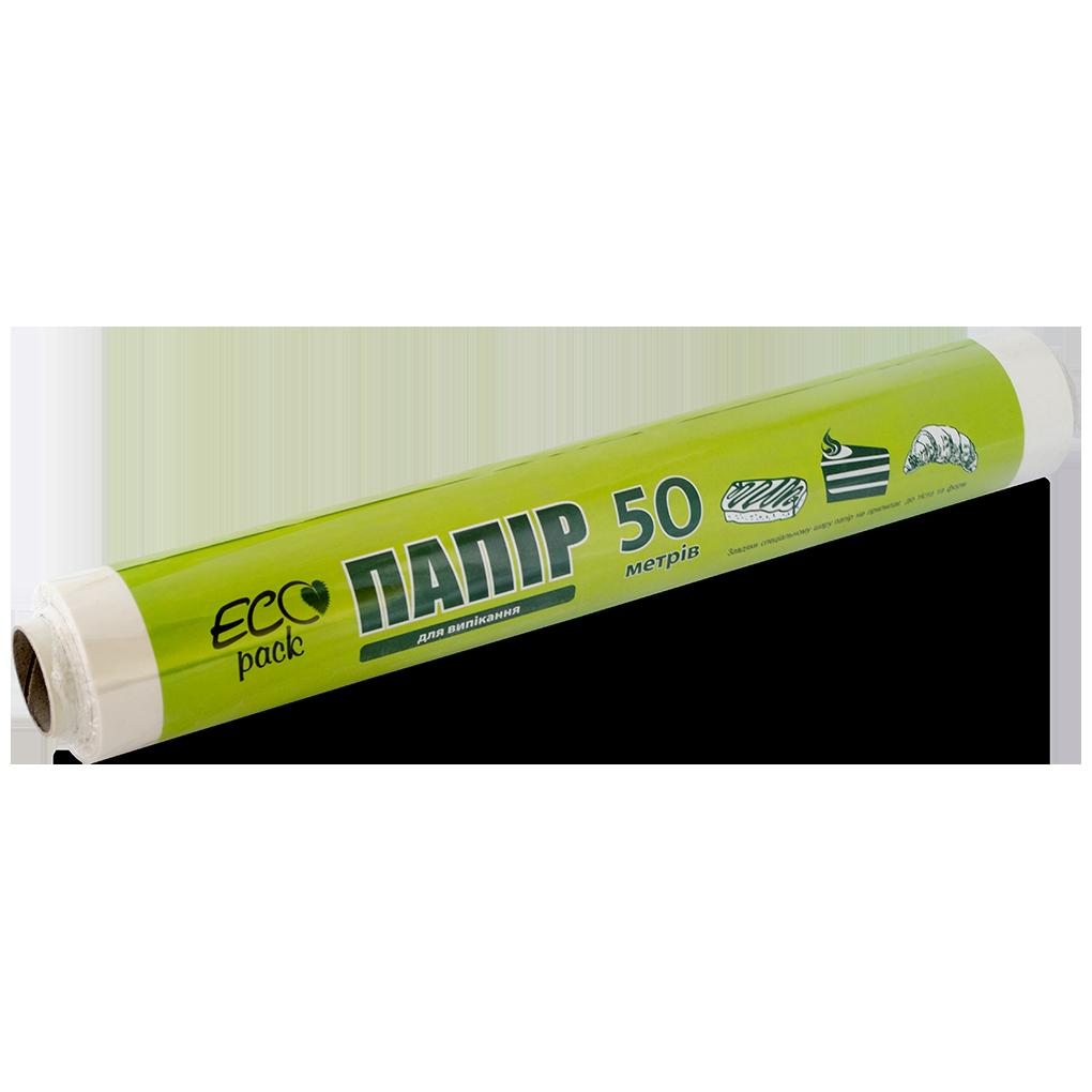 """Пергамент белый силиконизированный 420 мм 50 метров ТМ """"ECOpack"""""""