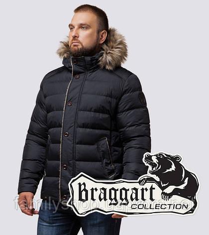 Braggart Dress Code 12149 | Зимняя куртка графит, фото 2
