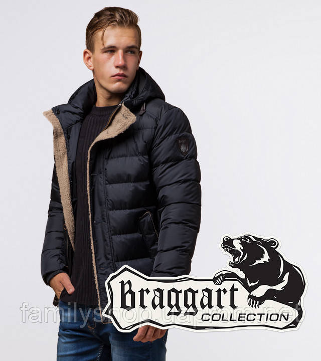 Braggart Dress Code 20849 | Зимняя куртка сине-черная