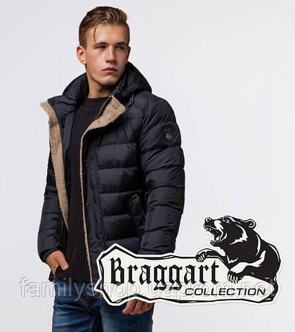 Braggart Dress Code 20849 | Зимняя куртка сине-черная, фото 2