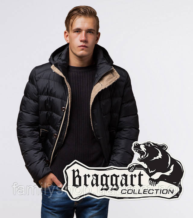 Braggart Dress Code 20849 | Зимняя куртка мужская черная