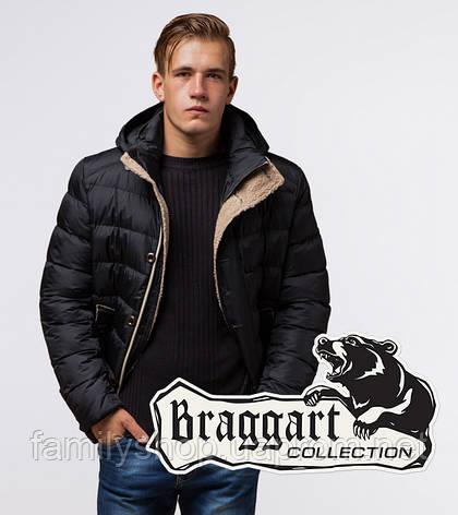Braggart Dress Code 20849 | Зимняя куртка мужская черная, фото 2