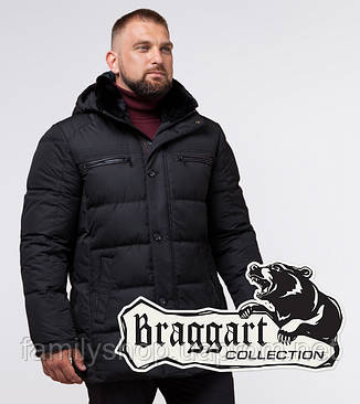 Braggart Status 17107 | Куртка мужская черная, фото 2