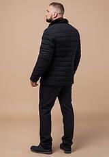 Braggart Status 17768 | Мужская куртка черная, фото 3