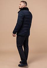 Braggart Status 16148   Куртка зимняя мужская т-синяя, фото 3