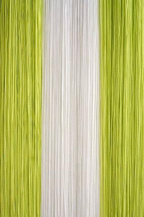 Шторы-нити Кисея оливковый, фото 2