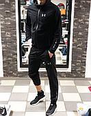 Спортивный костюм мужской Under Armour Андер Армор черный (реплика)